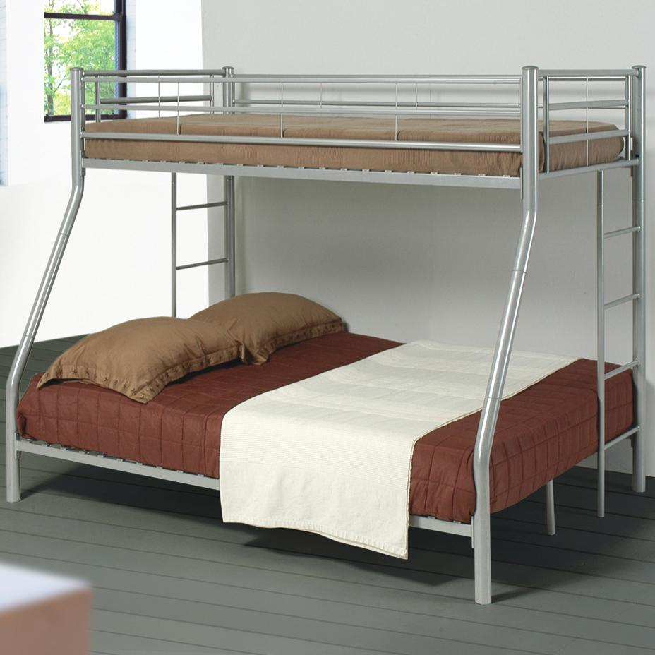 Denley Twin Over Full Bunk Bed by Coaster at A1 Furniture & Mattress