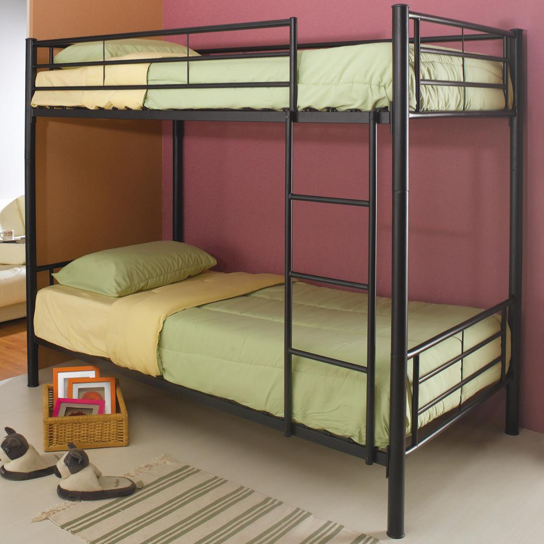 Denley Twin Bunk Bed by Coaster at Northeast Factory Direct