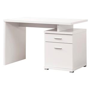 Coaster   Desk with Cabinet