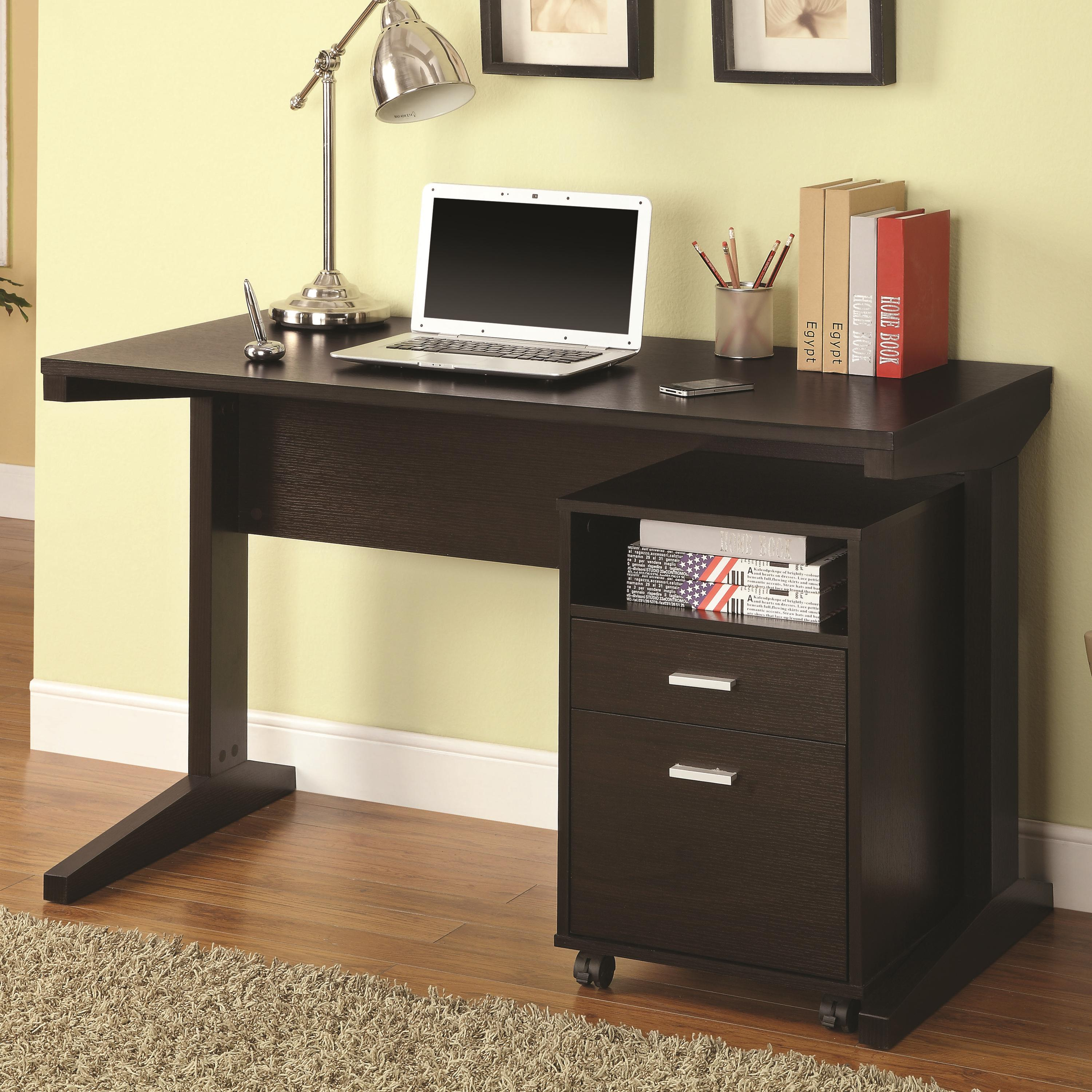 - 2-Piece Desk Set by Coaster at Northeast Factory Direct