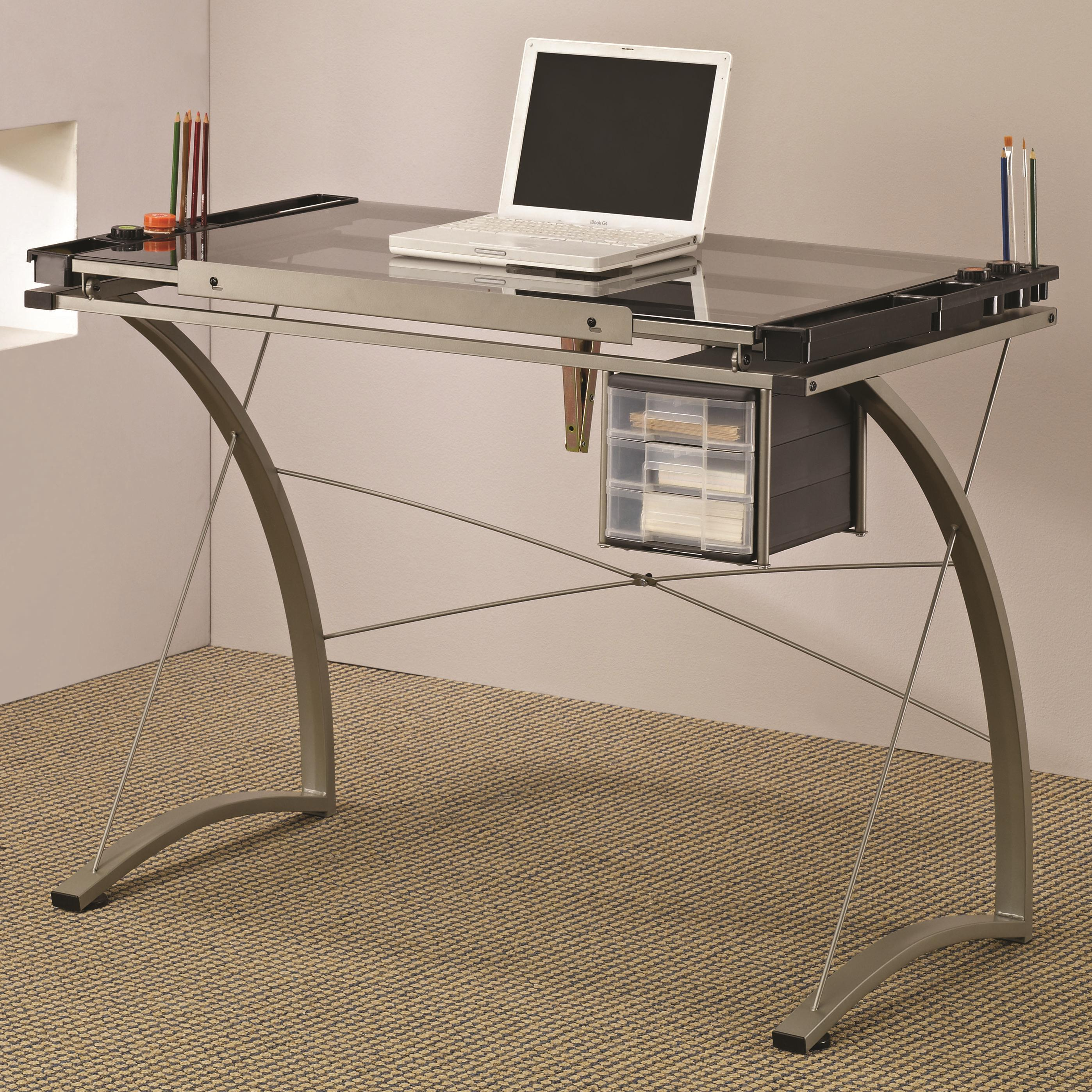 - Artist Table Desk by Coaster at Northeast Factory Direct