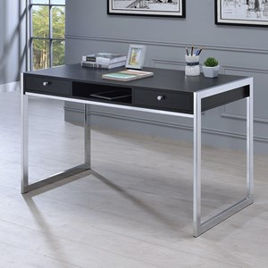Contemporary Computer Desk with 3 Drawers