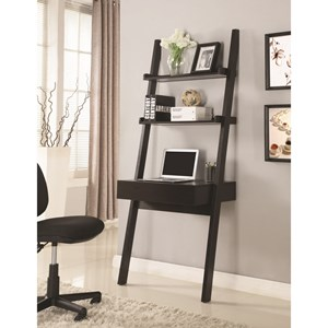 Wall-Leaning Writing Ladder Desk