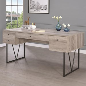 Desk with Four Drawers