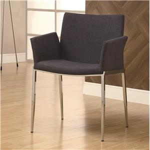 Coaster Dining 120 Charcoal Dining Chair