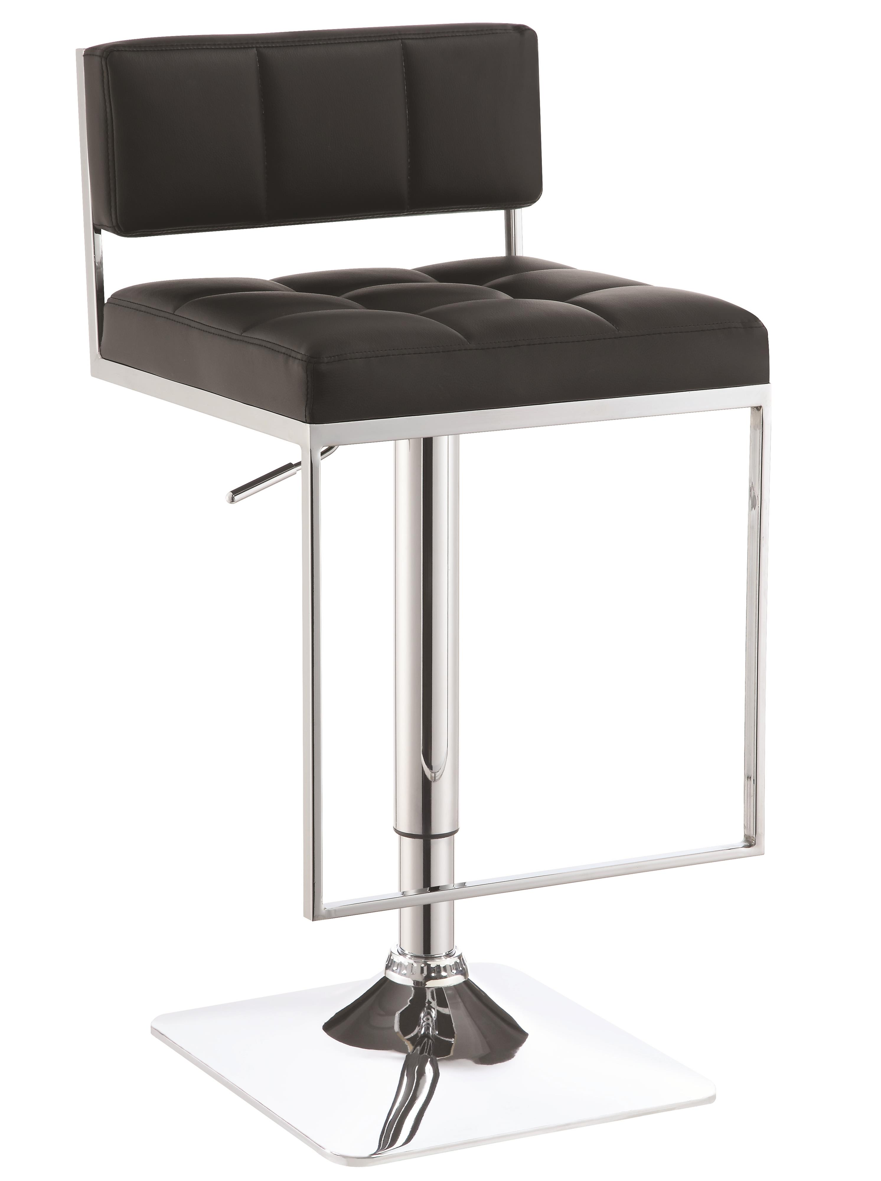 Dining Chairs and Bar Stools Adjustable Bar Stool by Coaster at Lapeer Furniture & Mattress Center