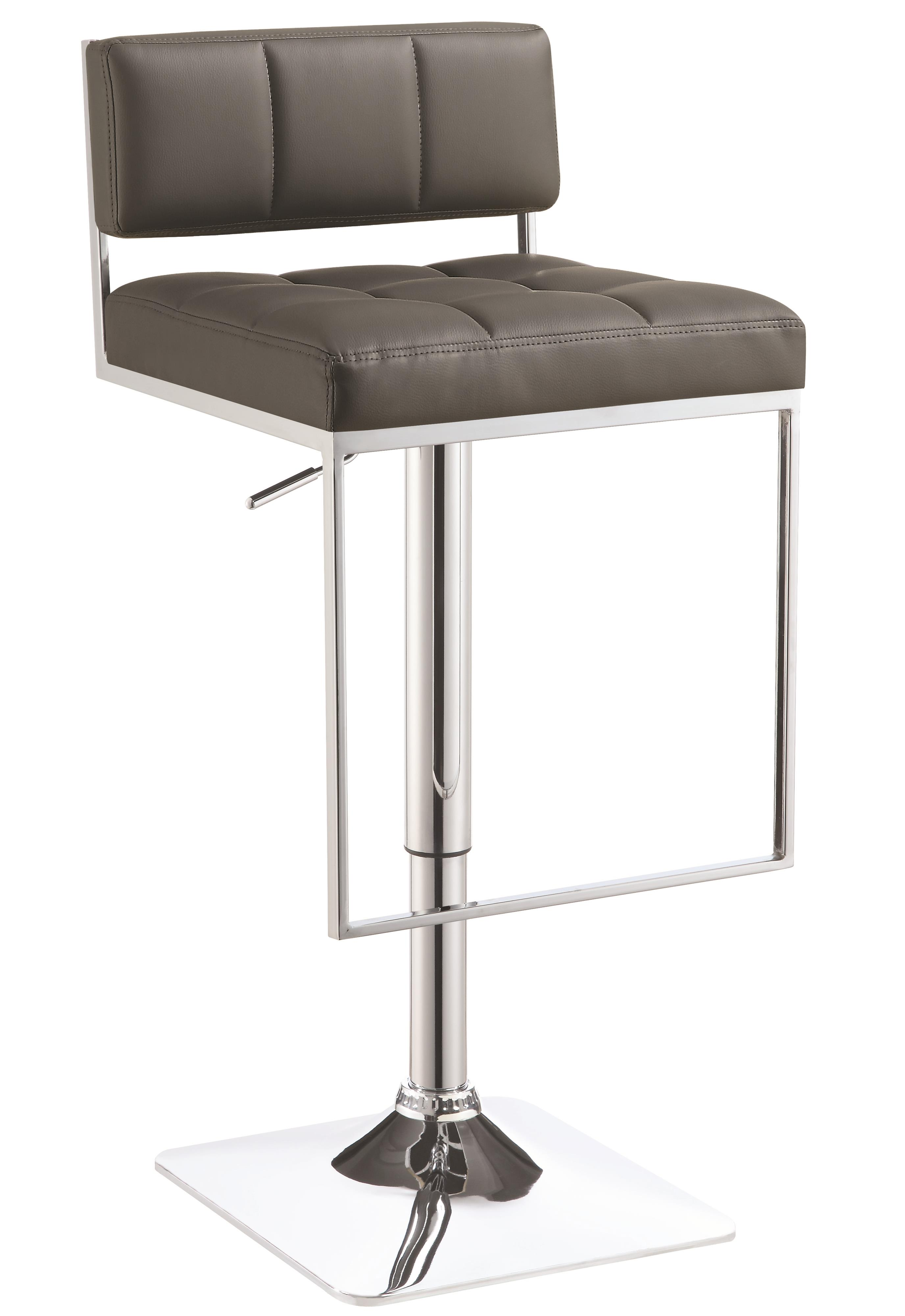 Dining Chairs and Bar Stools Adjustable Bar Stool by Coaster at Northeast Factory Direct
