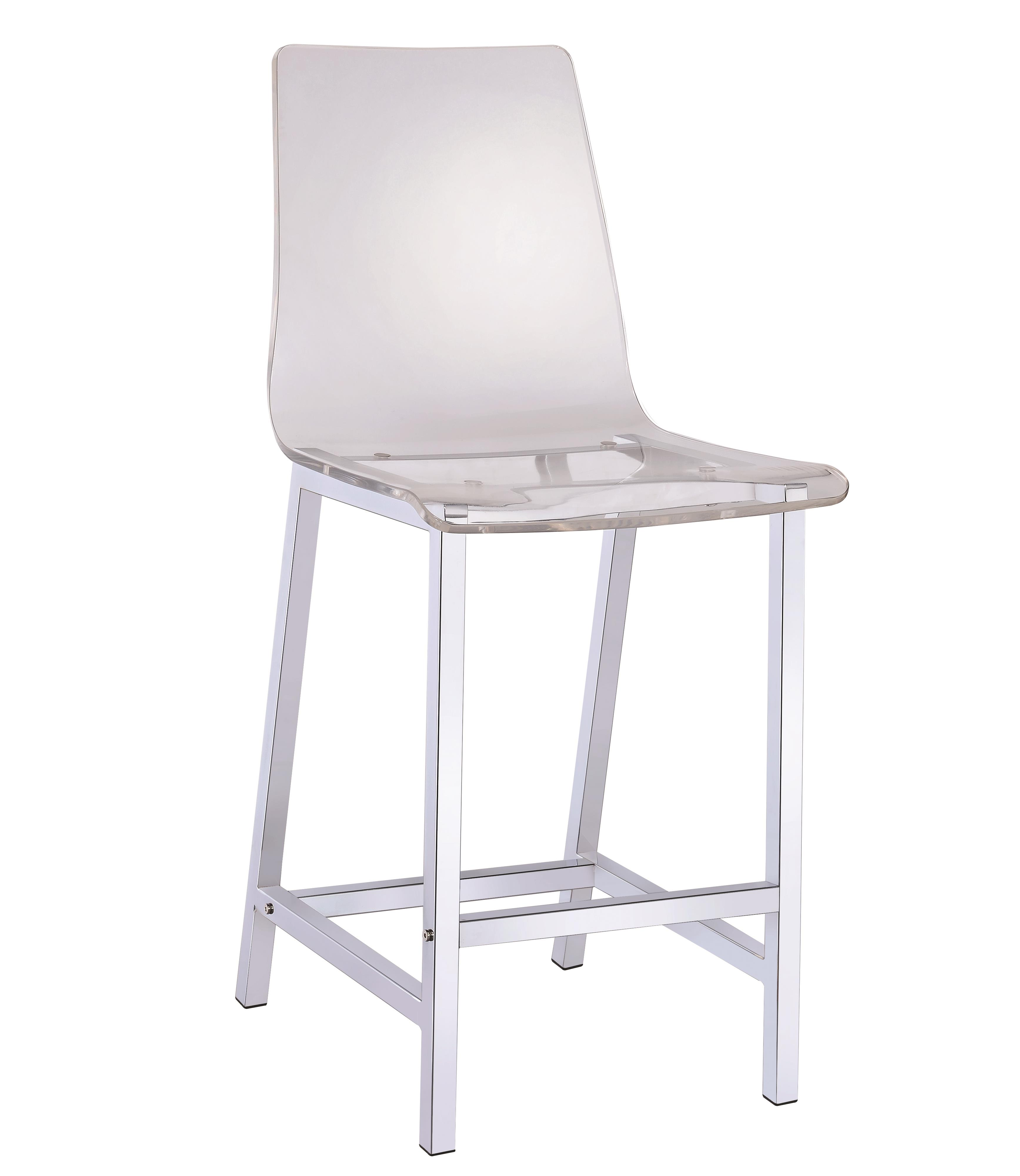 Dining Chairs and Bar Stools Acrylic Bar Stool by Coaster at Northeast Factory Direct