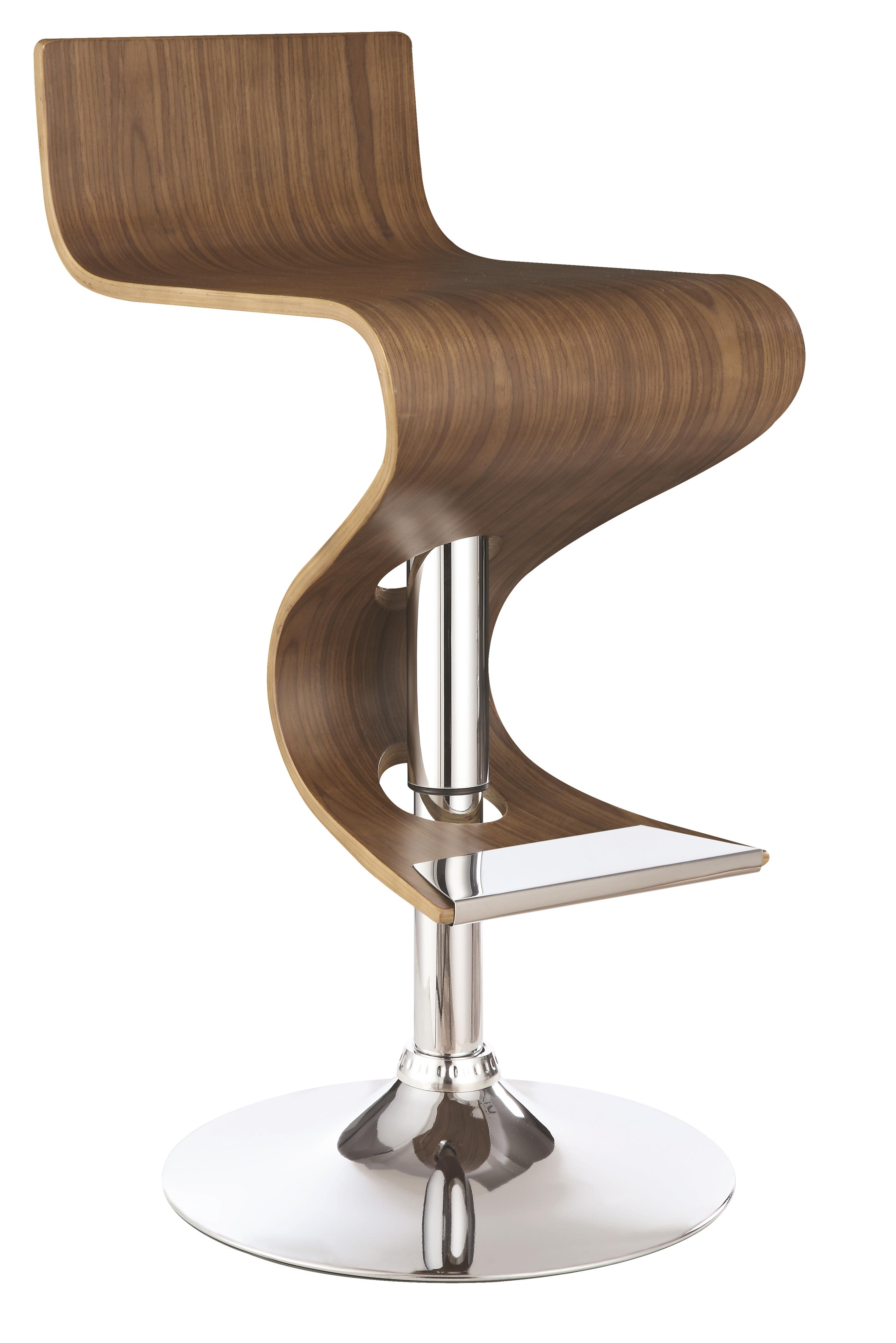Dining Chairs and Bar Stools Adjustable Bar Stool by Coaster at Beds N Stuff