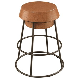 Wine Cork Counter Height Stool