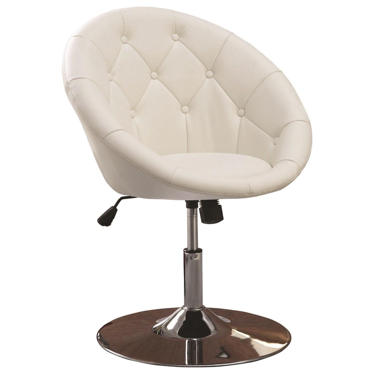 Swivel Chair (White)