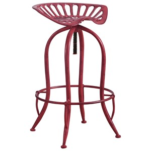 Metal Tractor Seat Adjustable Stool