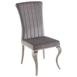 Glamorous Upholstered Dining Chair