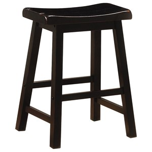 "24"" Wooden Bar Stool"