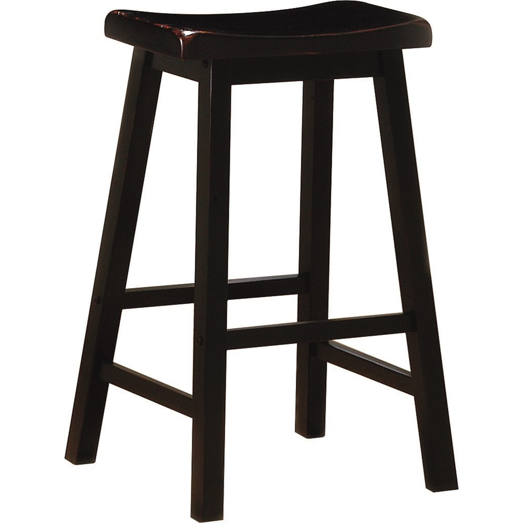 Dining Chairs and Bar Stools Wooden Bar Stool by Coaster at Northeast Factory Direct