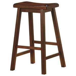 "29"" Wooden Bar Stool"
