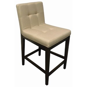 Casual Upholstered Counter Height Stool
