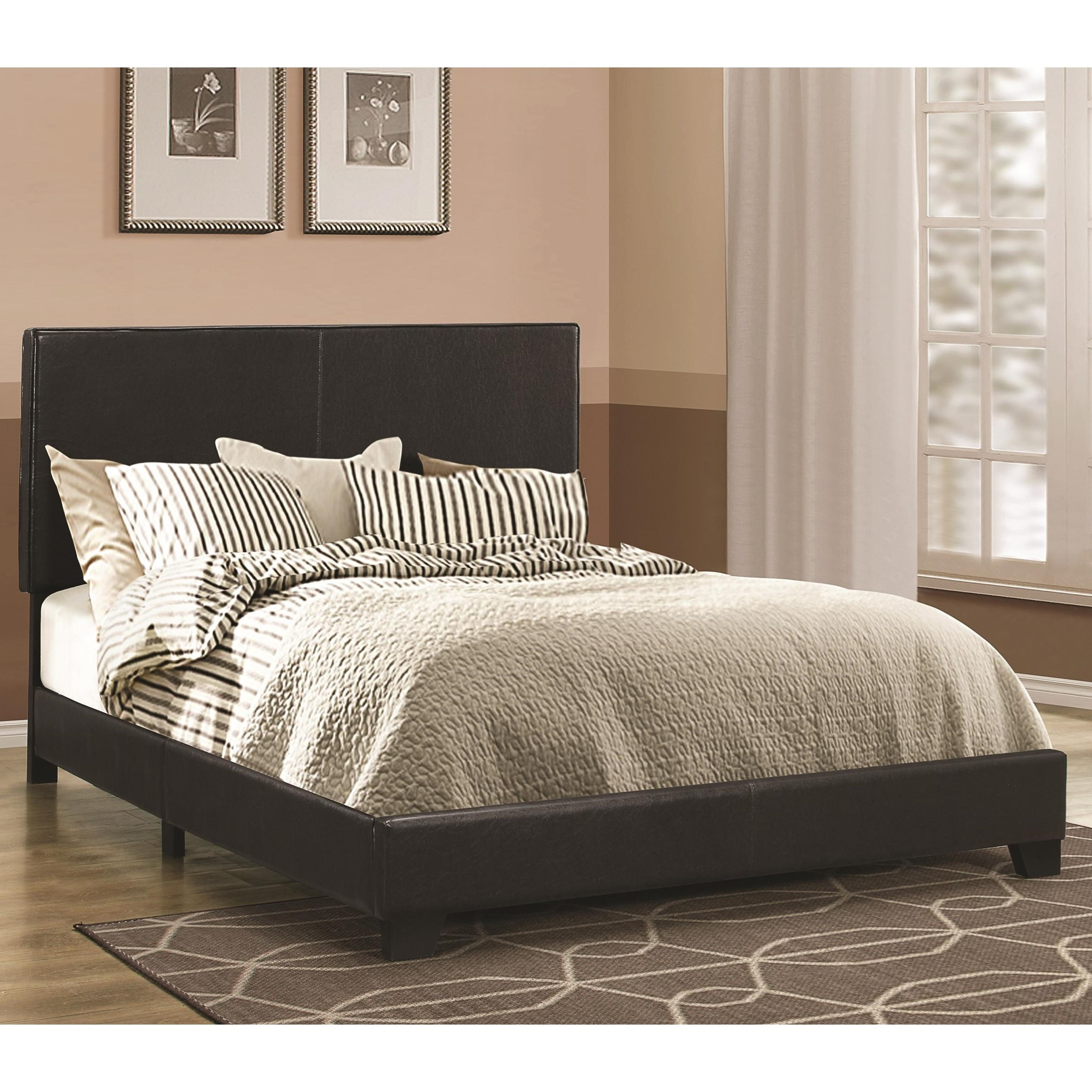 Dorian Black California King Bed by Coaster at Northeast Factory Direct