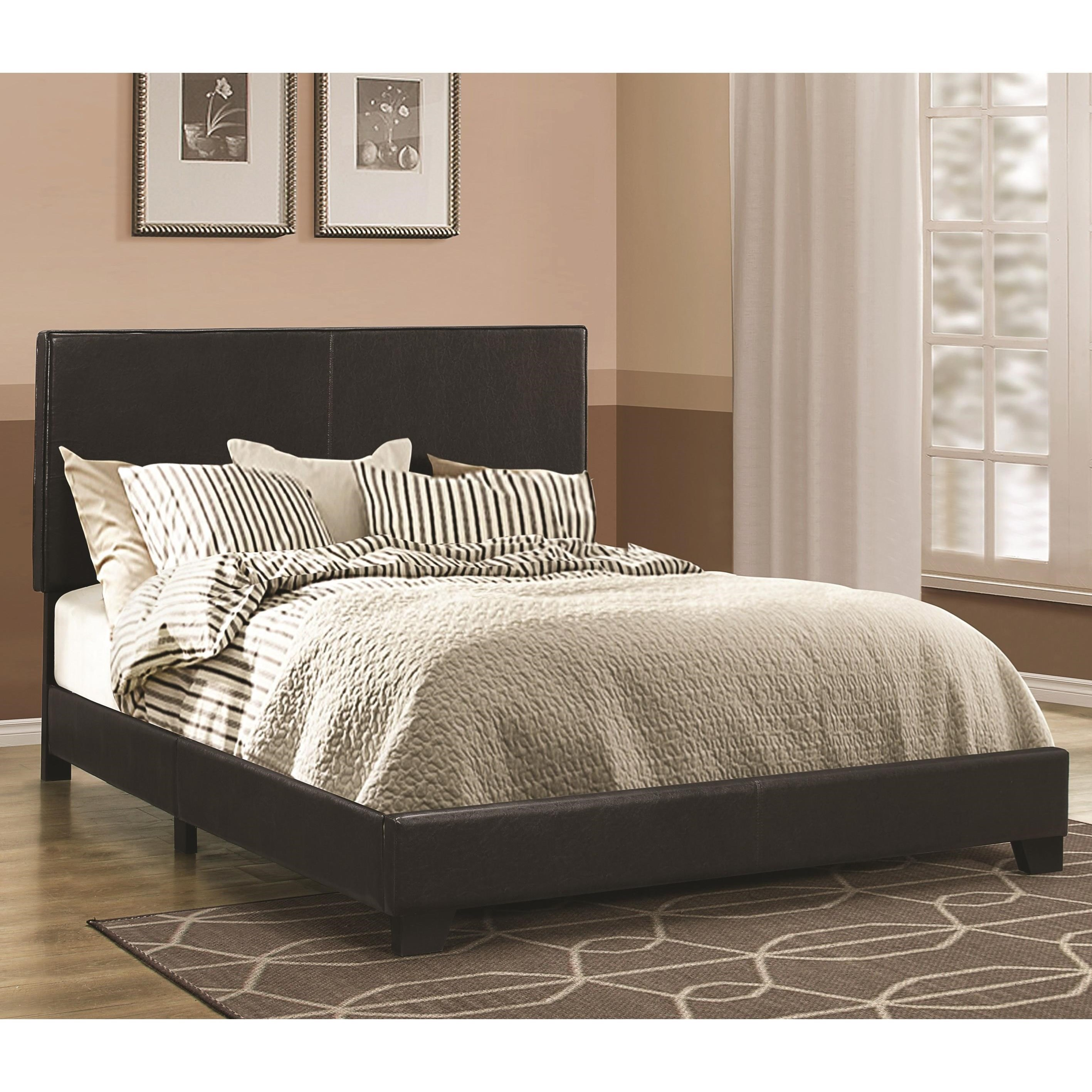 Dorian Black Queen Bed by Coaster at Carolina Direct
