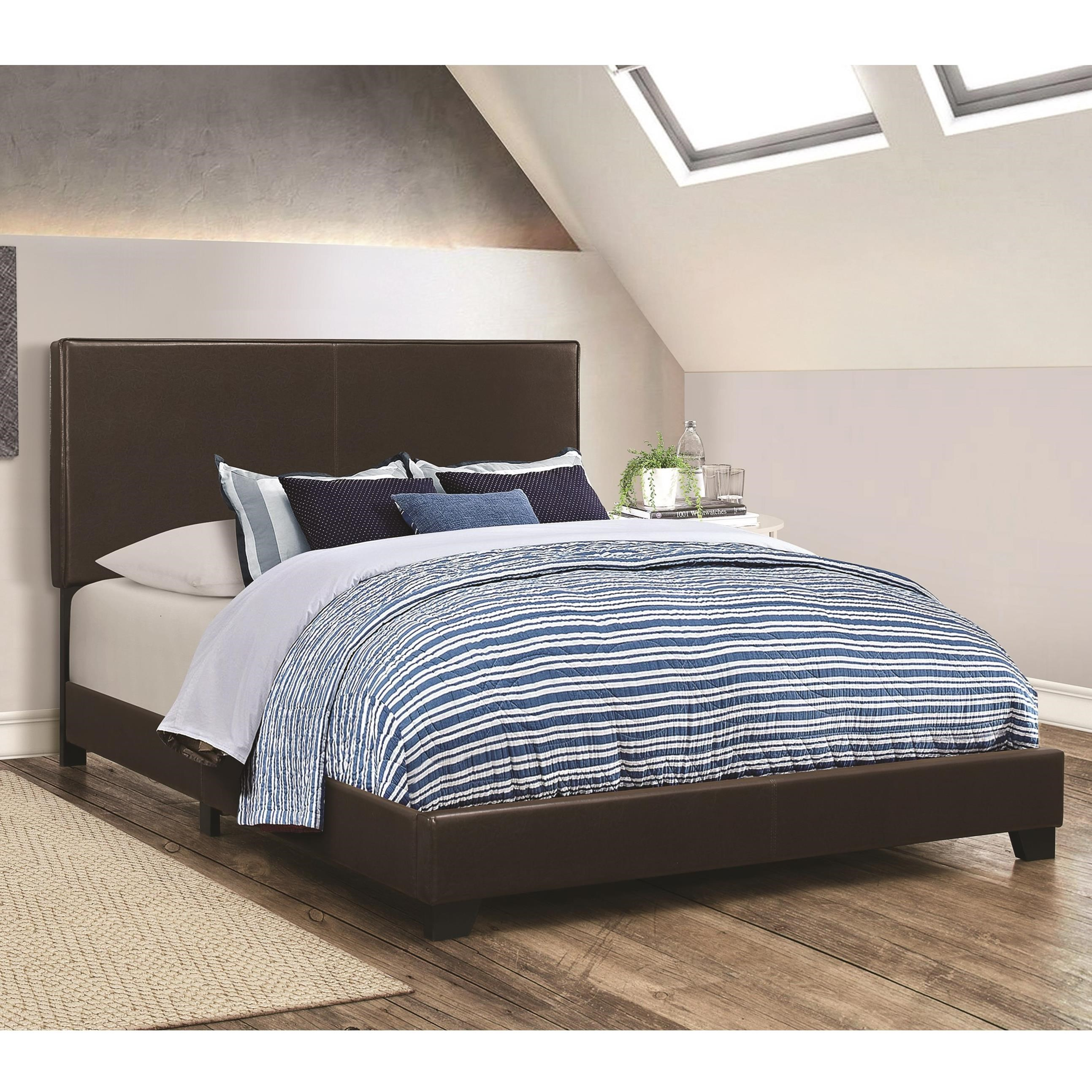 Dorian Brown California King Bed by Coaster at Rife's Home Furniture