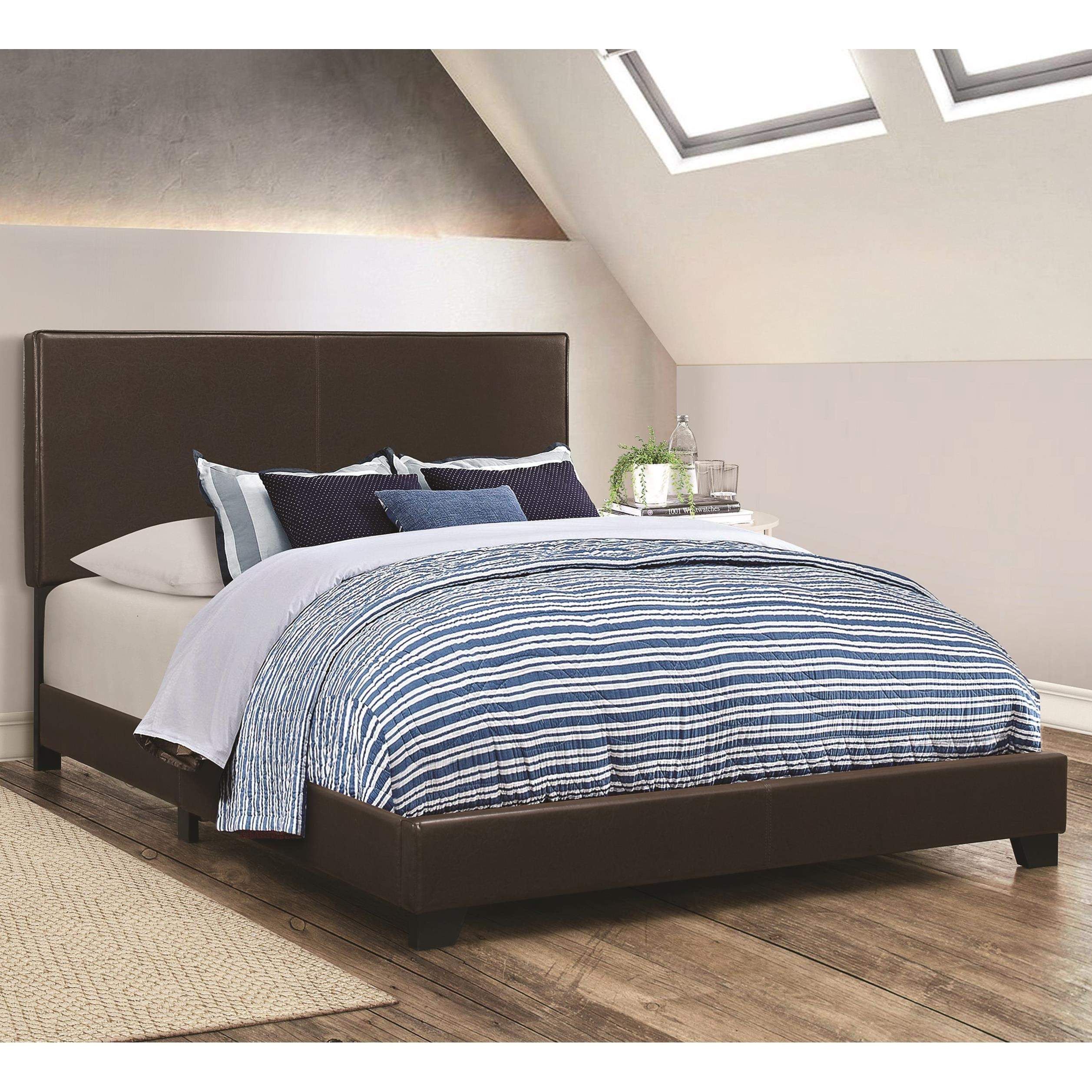 Dorian Brown Twin Bed by Coaster at Northeast Factory Direct