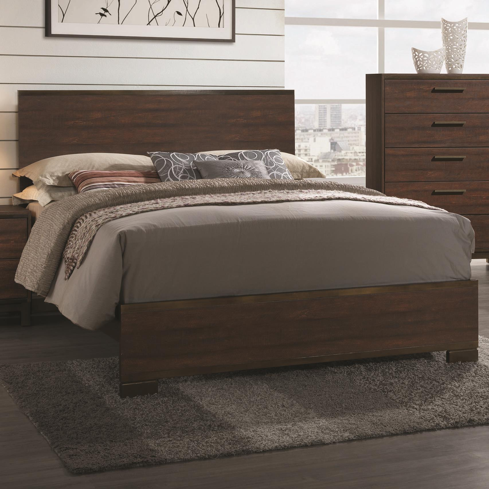Edmonton Eastern King Bed by Coaster at Northeast Factory Direct
