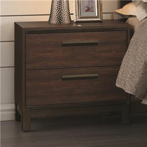 Nightstand with Two Dovetail Drawers
