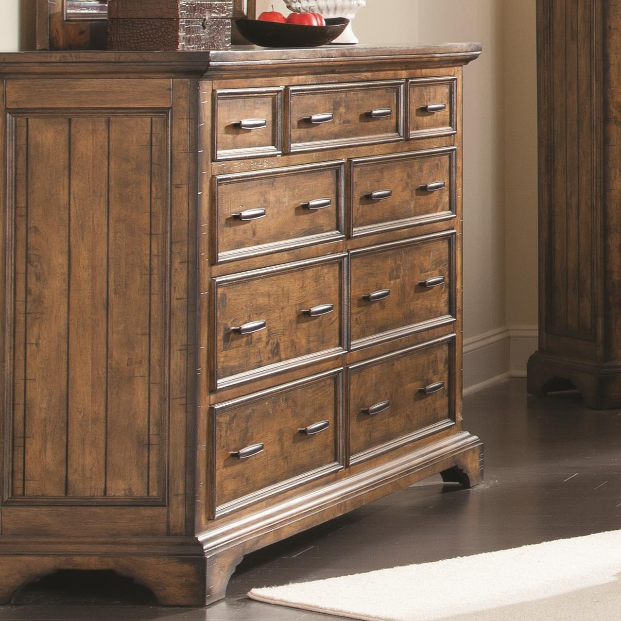 Elk Grove Dresser by Coaster at Rife's Home Furniture