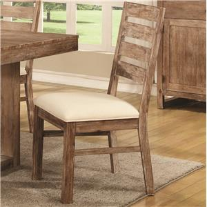 Rustic Solid Wood Side Chair
