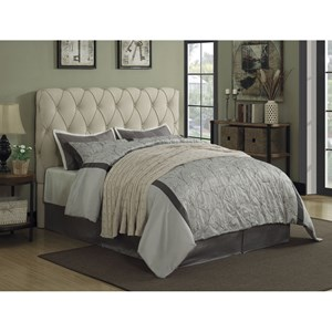 Upholstered Queen Bed with Button Tufting - Headboard Only