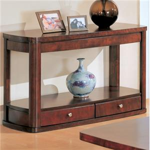 Contemporary Sofa Table with Storage