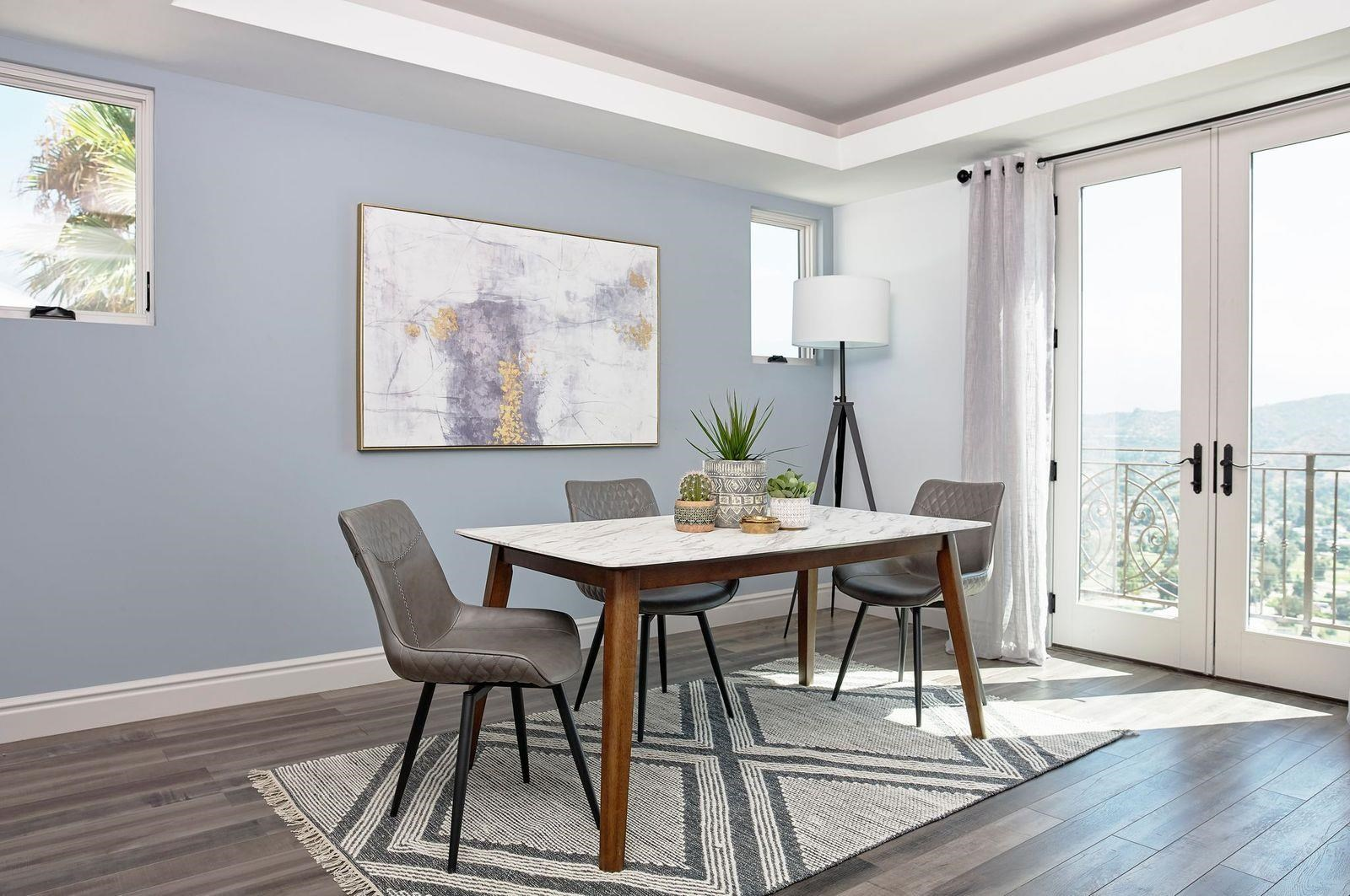 Everett 5-Piece Dining Set by Coaster at Beck's Furniture