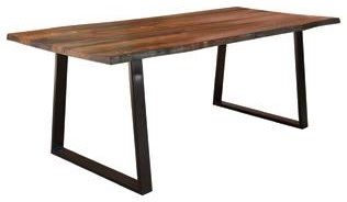 Everyday Ditman Rustic Dining Table by Coaster at HomeWorld Furniture