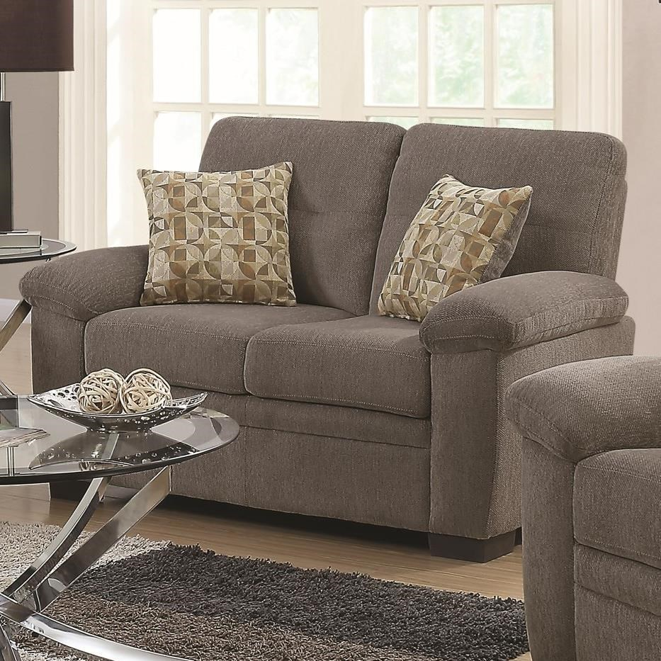 Fairbairn Loveseat by Coaster at Northeast Factory Direct