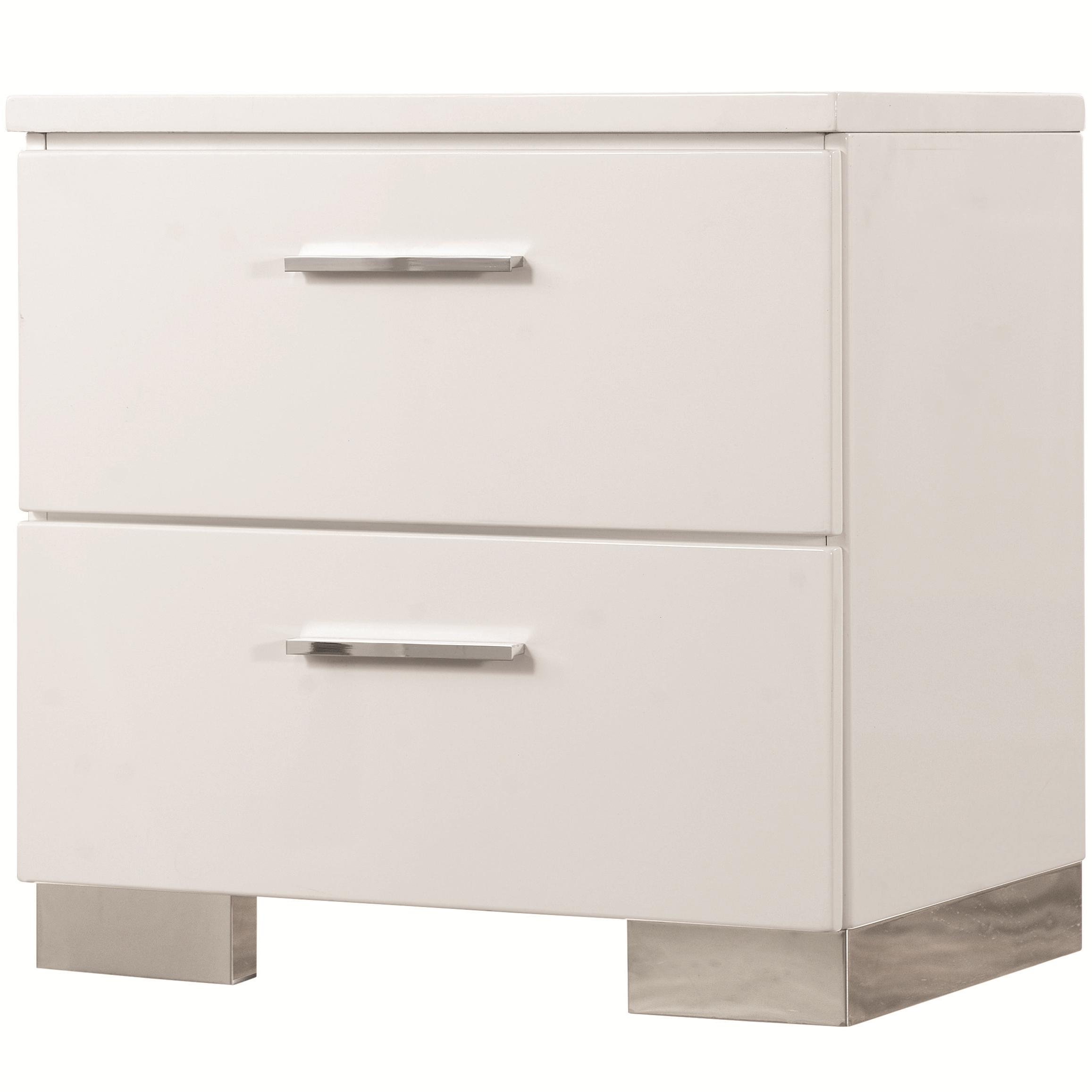 Felicity Nightstand by Coaster at Beck's Furniture