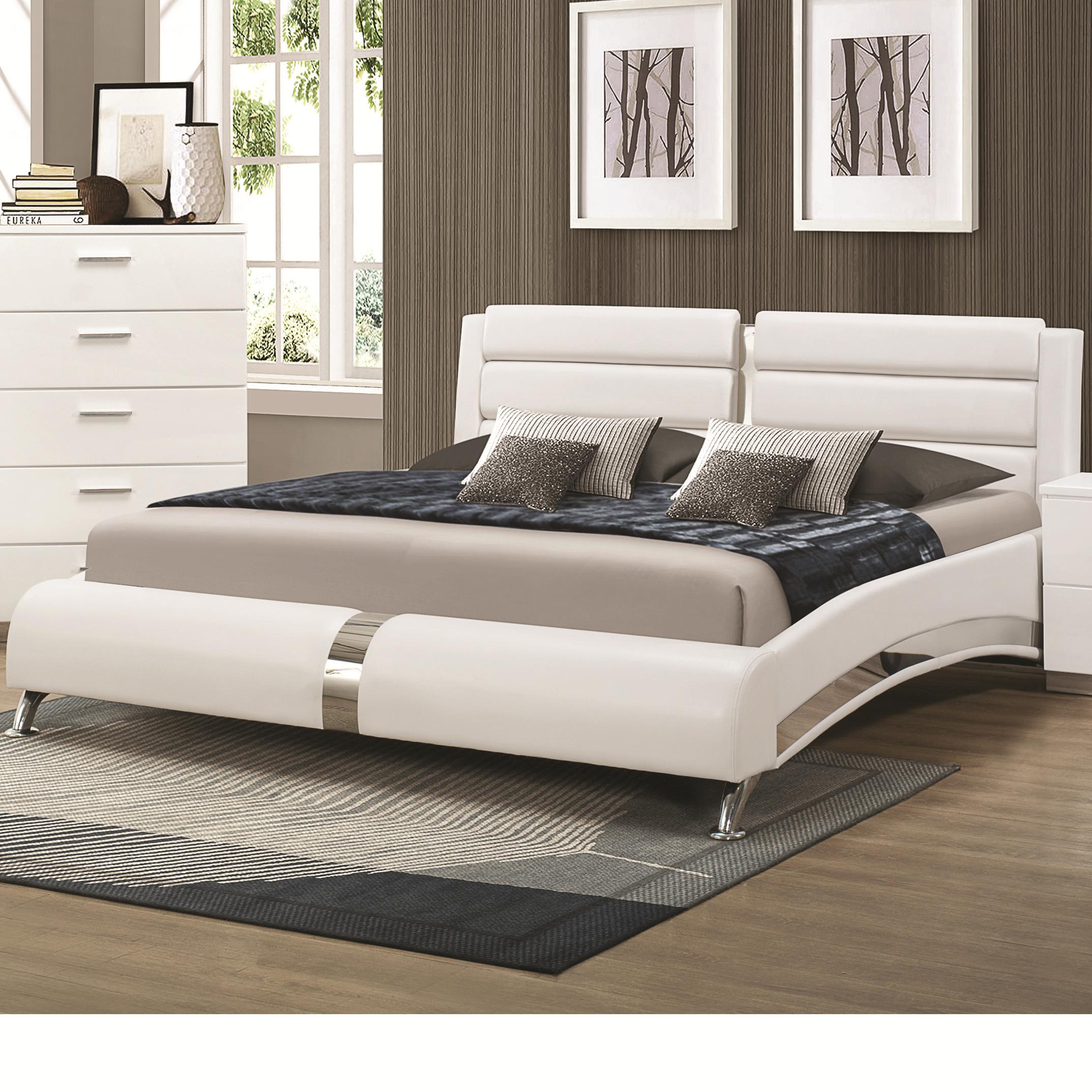 Felicity Cal King Bed by Coaster at Northeast Factory Direct
