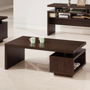 Modern Coffee Table with Floating Top Design