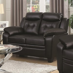 Loveseat with Extreme Padding