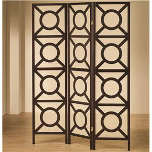 Coaster Folding Screens Folding Screen