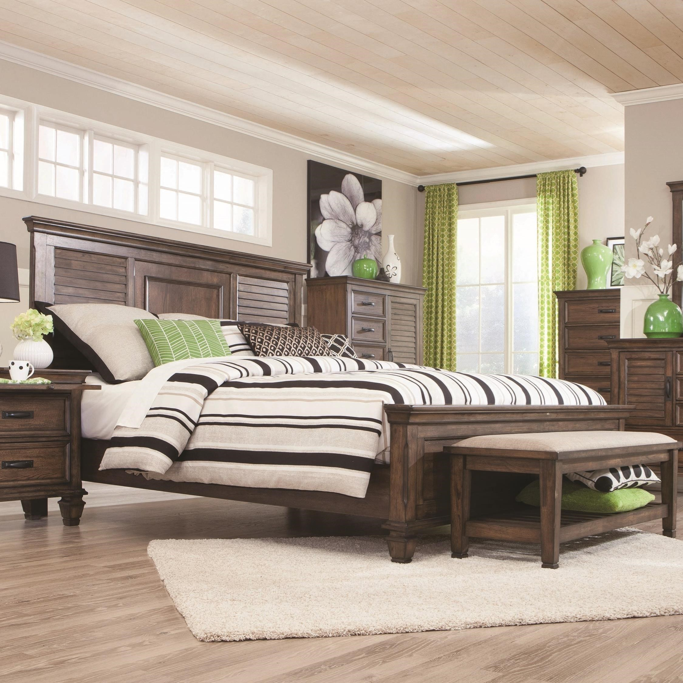 Franco Queen Bed by Coaster at Beds N Stuff