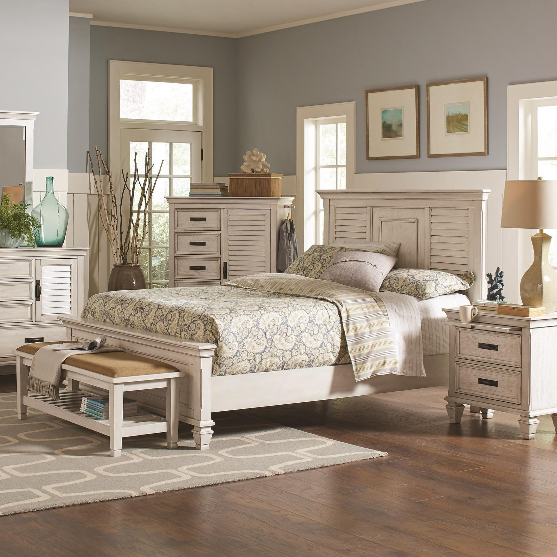 Franco King Bed by Coaster at Northeast Factory Direct
