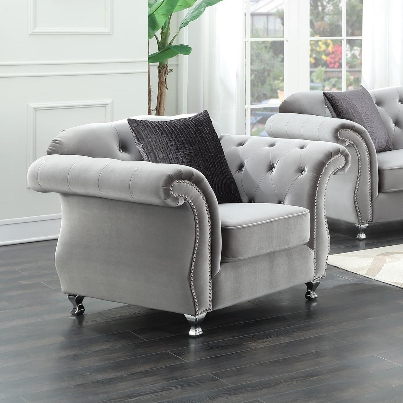 Frostine Chair by Coaster at Value City Furniture