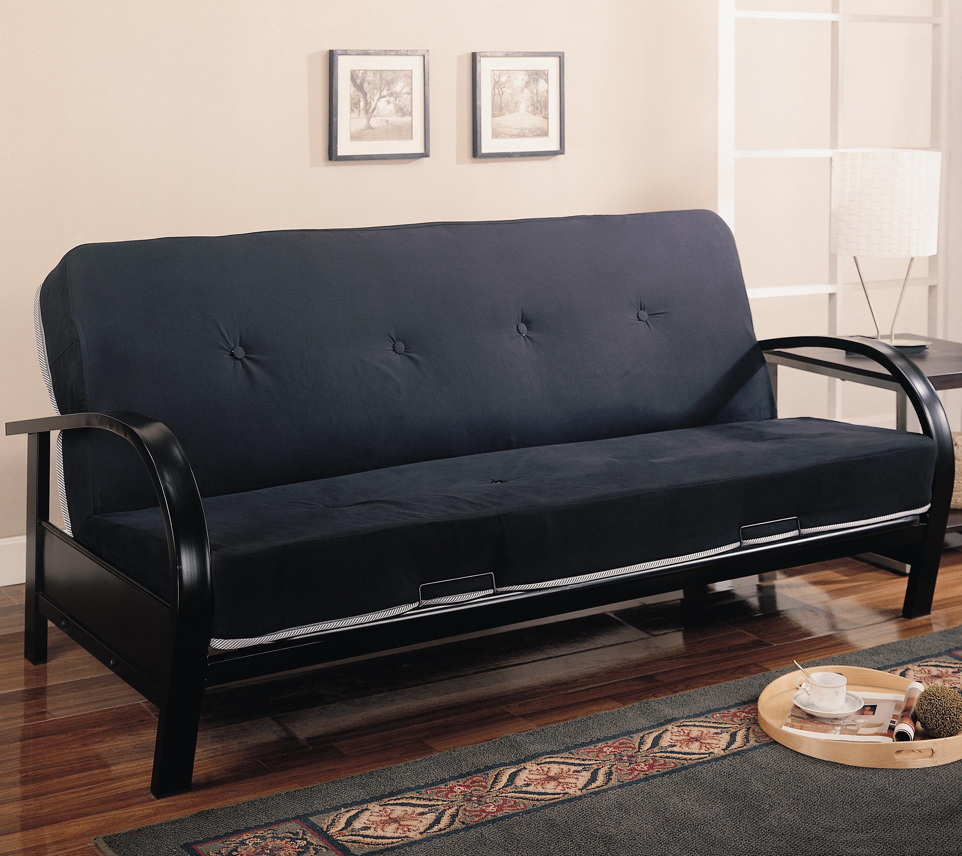 Futons Futon Frame and Mattress by Coaster at Northeast Factory Direct