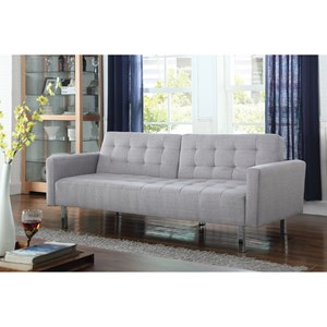 Button Tufted Sofa Bed
