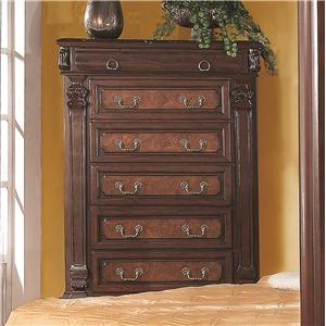 Tall Chest w/ 5 Drawers
