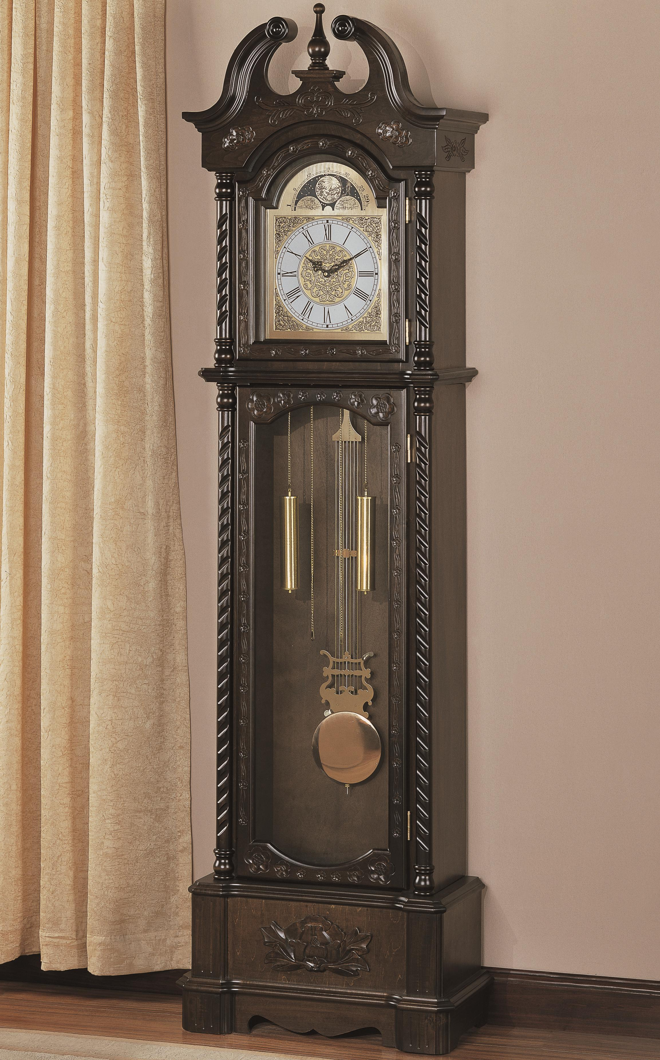 Grandfather Clocks Grandfather Clock by Coaster at Northeast Factory Direct