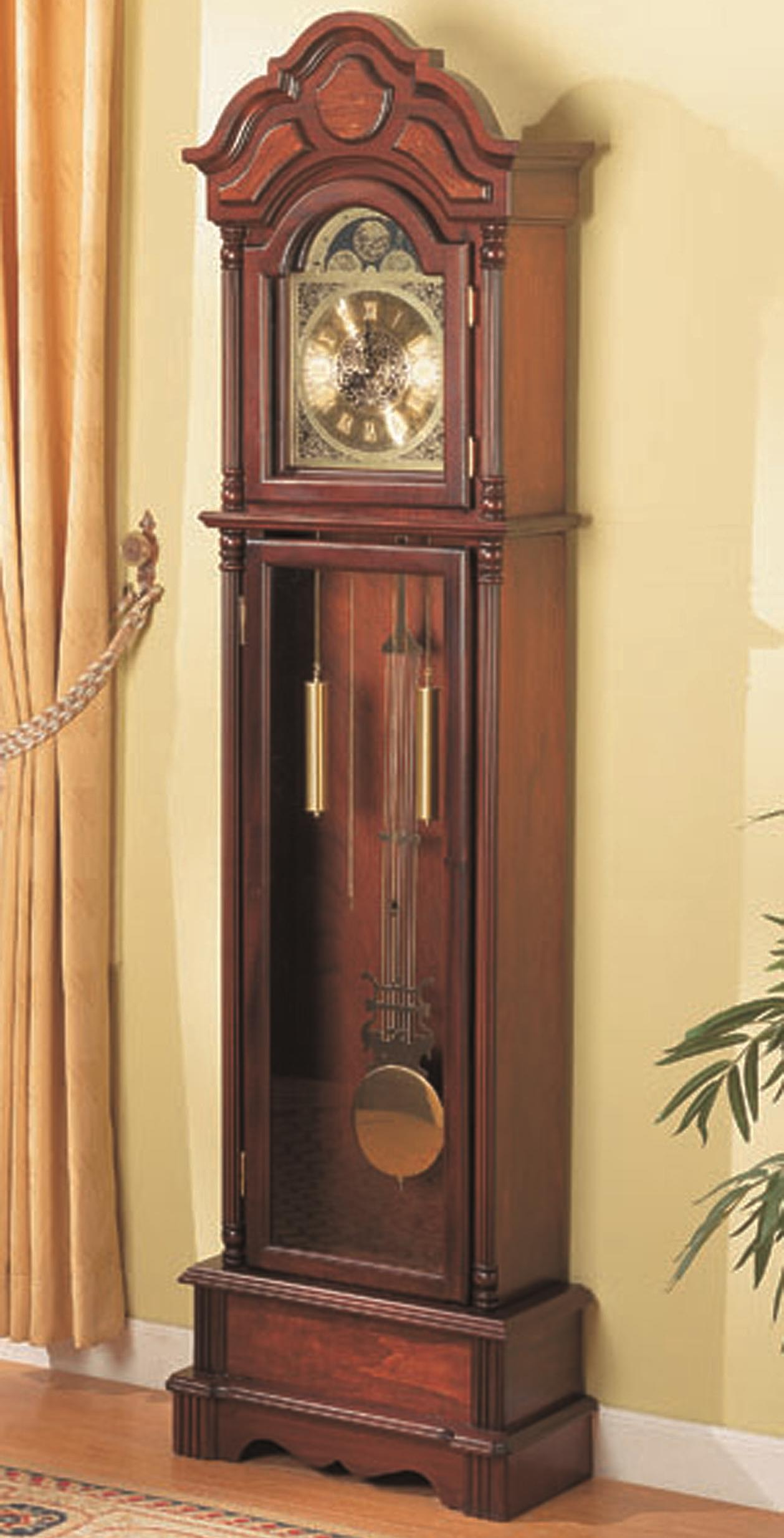 Grandfather Clocks Grandfather Clock by Coaster at Nassau Furniture and Mattress