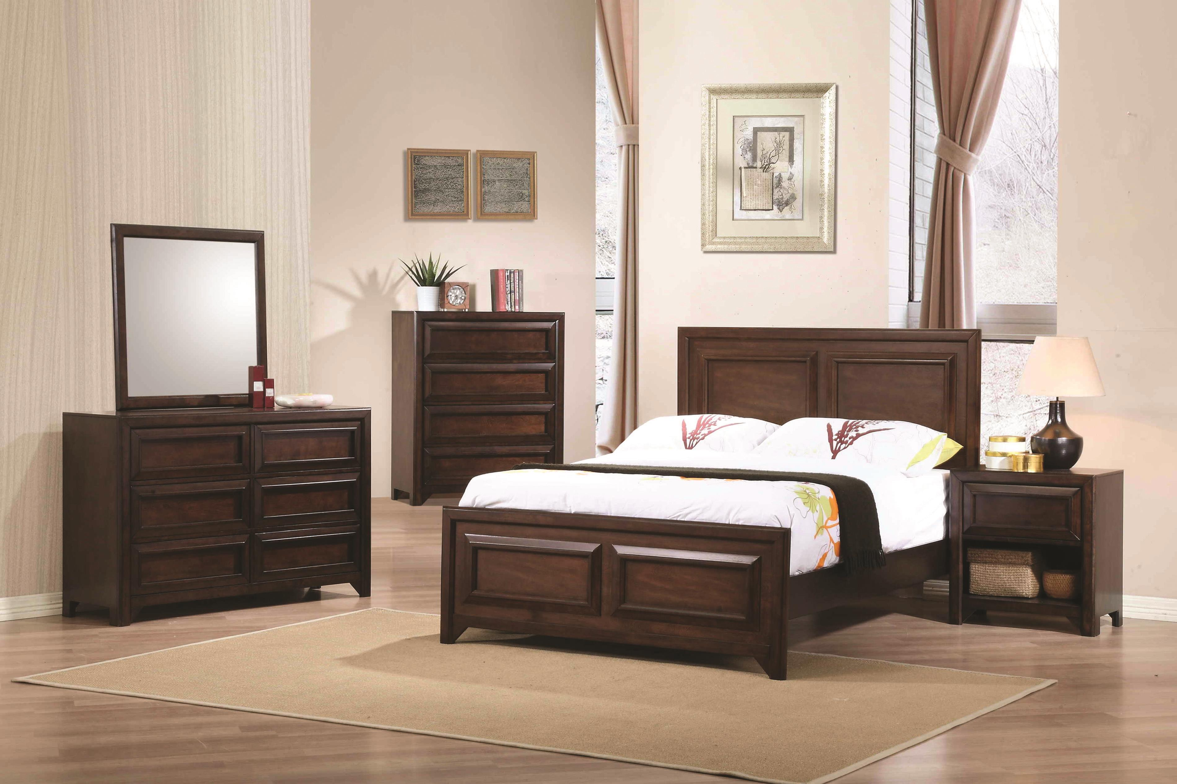Greenough Full Bedroom Group by Coaster at Northeast Factory Direct