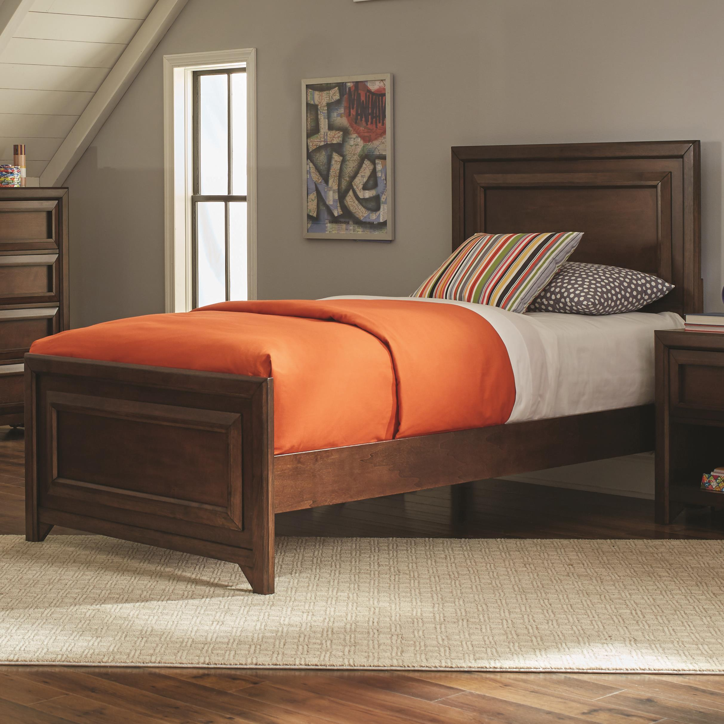 Greenough Twin Bed by Coaster at Northeast Factory Direct