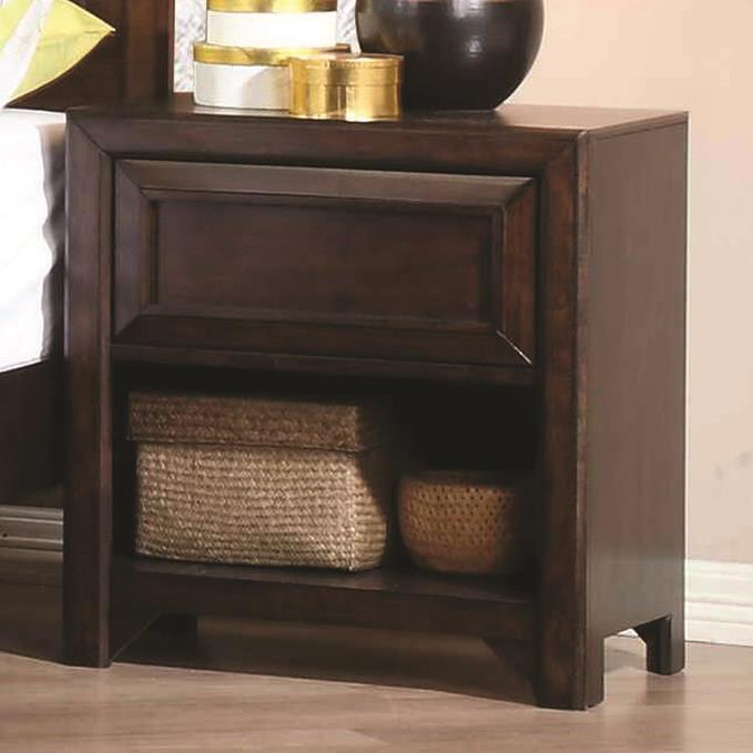 Greenough Nightstand by Coaster at Northeast Factory Direct